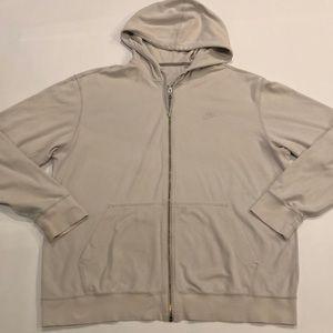 Men's Nike zipup hoody